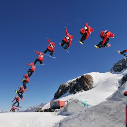 Freestyle-Happening auf dem Corvatsch