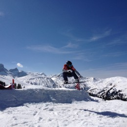 Ideale Gelegenheit für Snowboardcross-Einsteiger