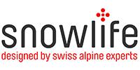 Snowlife Logo_dk.gry_red_mit claim