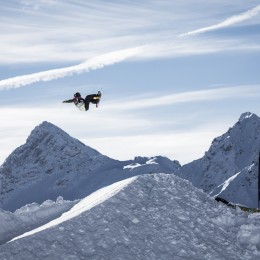 Big Air und Style in Davos