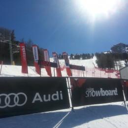 Patrizia Kummer und Kaspar Flütsch Schweizermeister im Parallel-Slalom