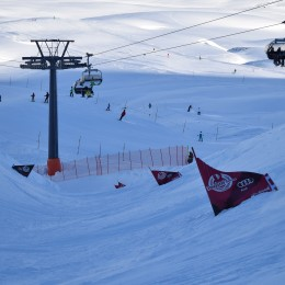 Erfolgreiche Banked Slalom Premiere an der Frutt