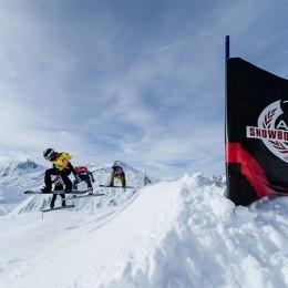 Caroline Weibel et Jérôme Lymann sont les nouveaux champions suisses de snowboardcross