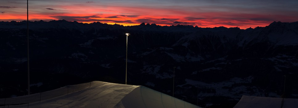 Die Schweizer Halfpipe-Cracks messen sich am Wochenende in Laax