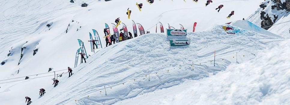 Isabel Derungs und Jonas Bösiger sind Schweizermeister im Big Air