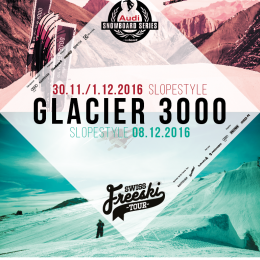 Registration Glacier 3000 open / new log-in
