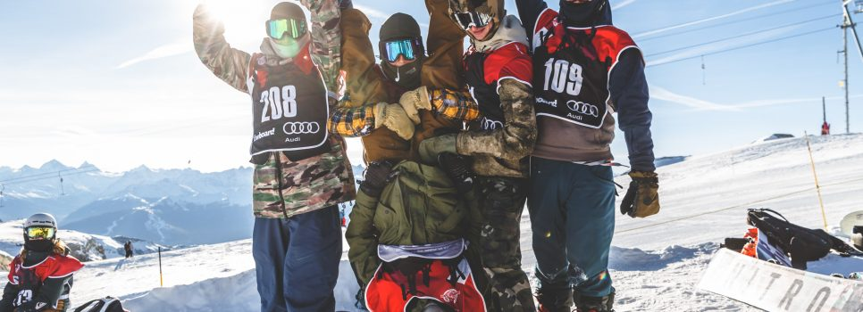Open & Kids Slopestyle in Thyon