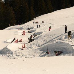 Mega Banked Slalom Gstaad