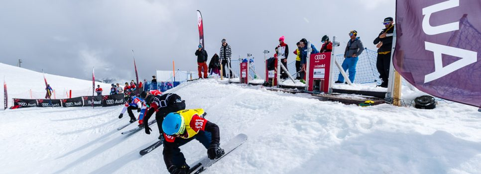 Erste SBX-Europacuprennen in Veysonnaz