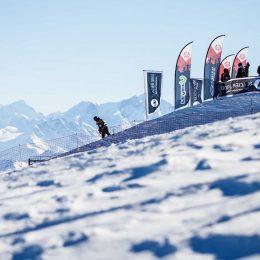 L'Audi Snowboard Series sur le Glacier 3000