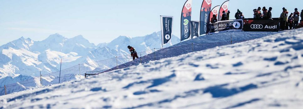 Audi Snowboard Series auf Glacier 3000