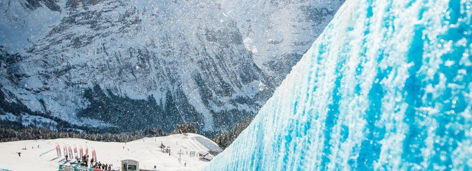 L'Eiger, le Mönch et Simmen pour accueillir les freestyleurs