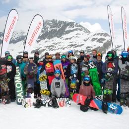 Swiss-Snowboard Camps der Zukunftshoffnungen