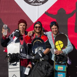 Pat Burgener und Verena Rohrer neue Swiss Halfpipe Champions