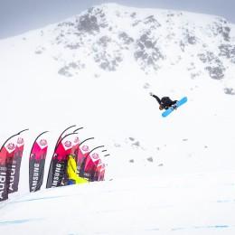 Über 100 Rider im Jatzpark Davos