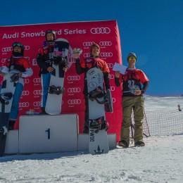 Participation élevée aux courses de snowboardcross à Lenk