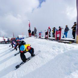 Erste SBX-Europacuprennen in Veysonnaz (German)