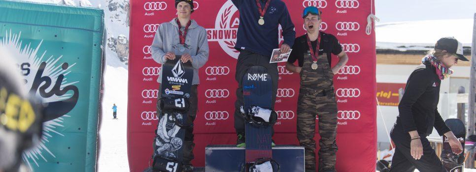 Les nouveaux champions suisses de big air sont connus
