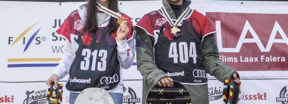 Les Audi Snowboard Series aux Mondiaux juniors en Nouvelle-Zélande