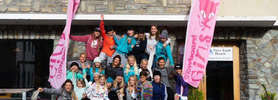 Apprendre des meilleures – Swiss Snowboard Girls Camp à Zermatt