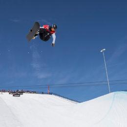 Les Mondiaux juniors FIS de freeski & snowboard half-pipe 2019 à Leysin