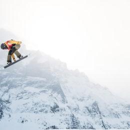 Freestyle-Spektakel vor der Eigernordwand