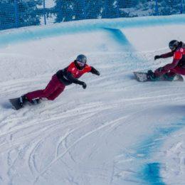 Cross-Saison der Audi Snowboard Series eröffnet