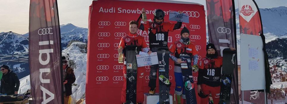 Sebastian Schüler fährt am Europacup auf der Lenzerheide auf Platz 2