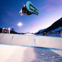 Nachtspektakel am Davoser Bolgen