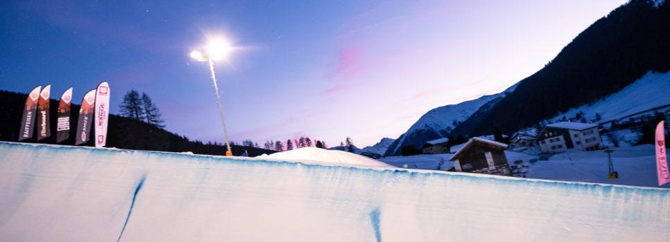 Spectacle nocturne sur le Bolgen de Davos