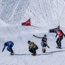 Snowboardcross am Flumserberg mit peruanischen Gästen