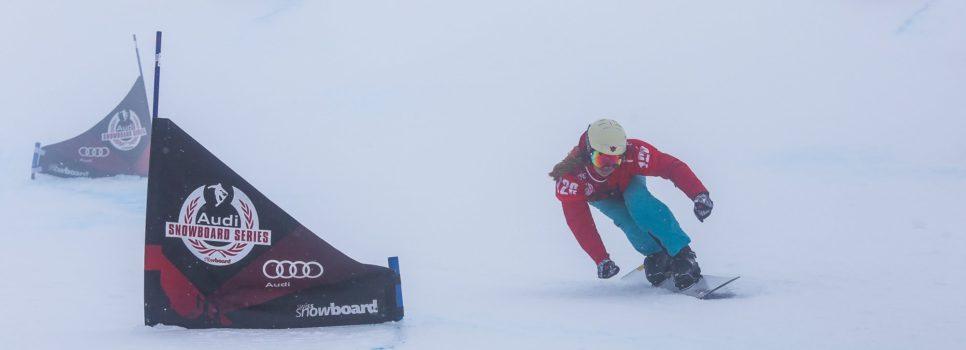 (German) Snowboard Parallel Slalom Europacup auf der Lenzerheide