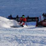 Sebastian Schüler fährt beim Snowboard Europacup Lenzerheide auf das Podest