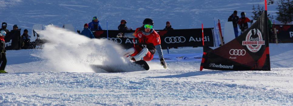 Sebastian Schüler monte sur le podium en Coupe d'Europe de snowboard à Lenzerheide