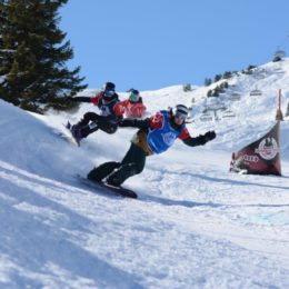 (Allemand) Snowboardcross Goldevent am Flumserberg