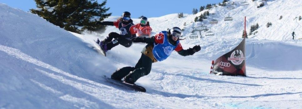 Snowboardcross Goldevent am Flumserberg