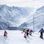 (German) Snowboardcross in der Surselva