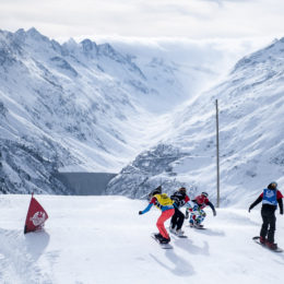 Snowboardcross in der Surselva