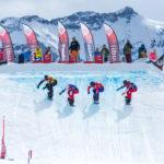 (German) Europäisches Schlussfeuerwerk der Snowboardcrosser