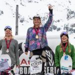 Isabel Derungs und Michelle Rageth sind Schweizer Meisterinnen im Slopestyle