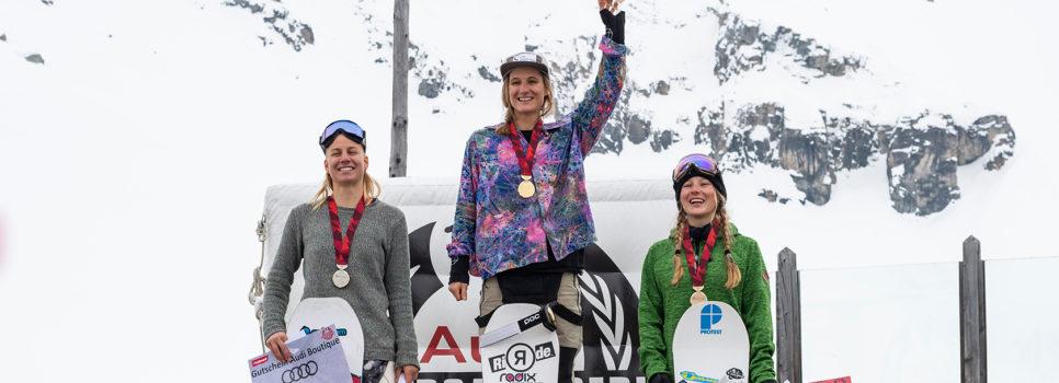 Isabel Derungs et Michelle Rageth sacrées championnes suisses de slopestyle