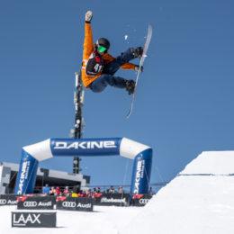 Multikulti an der Audi Snowboard Series